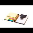 Cravis fekete jegyzettömb tollal és post ittel
