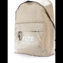 Discovery bézs hátizsák ELTE logóval