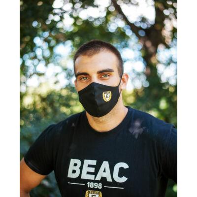 BEAC logós szájmaszk- ovális alakú