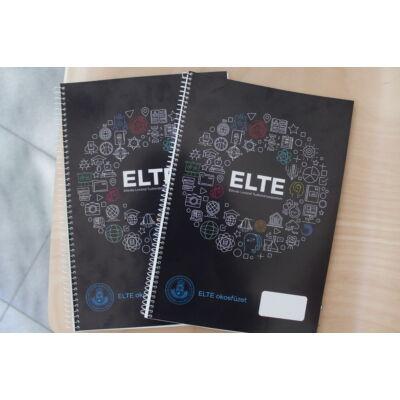 ELTE spirálfüzet - A4