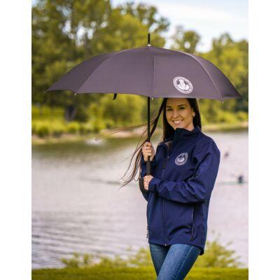 Mousson fekete esernyő ELTE logóval