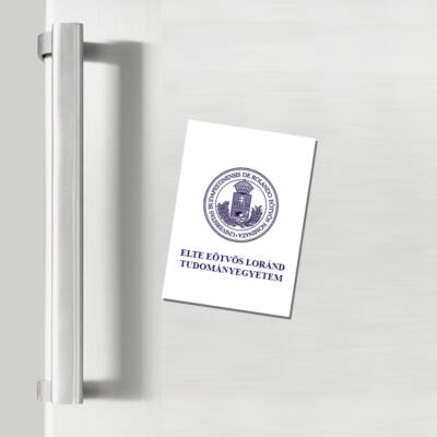 Hűtőmágnes - ELTE címeres