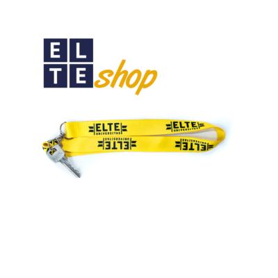Nyakpánt sárga -  ELTE felirattal
