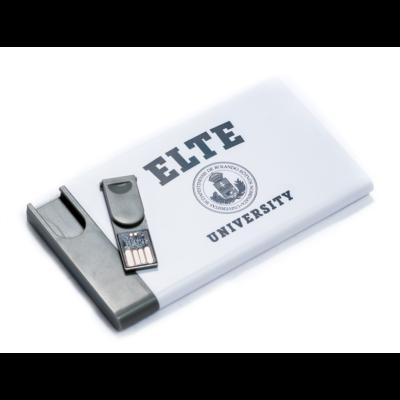 Spencer fehér/szürke power bank 8GB USB memóriával