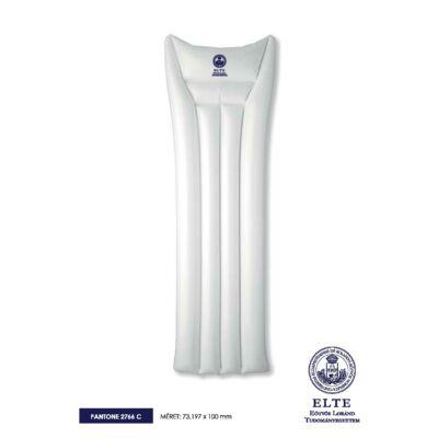 Felfújható ELTE strandmatrac - Fehér