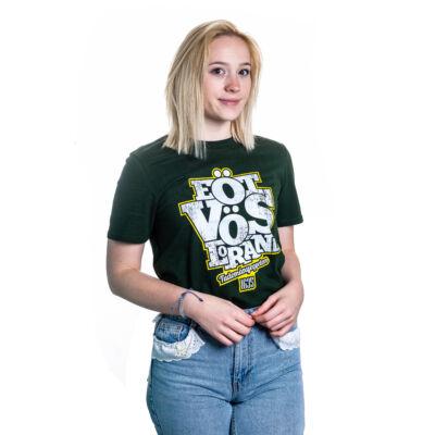 Eötvös feliratos unisex póló, zöld -S