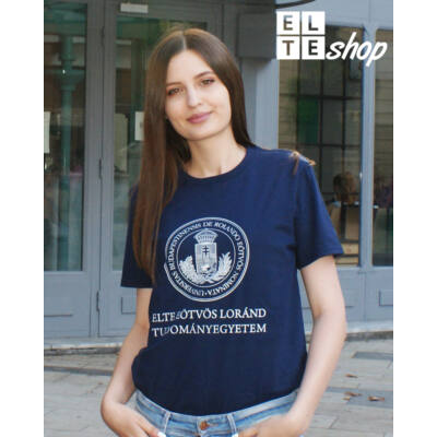 Kereknyakú unisex póló - NAVY