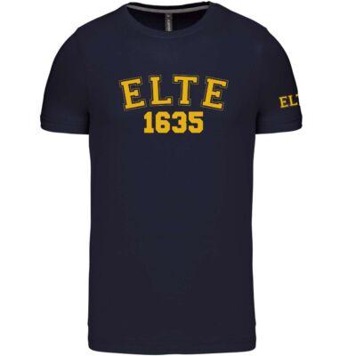 Kereknyakú Navy póló - ELTE 1635 - S